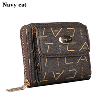 Women's Purse High quality PVC Leather Fashion Brand Wallet Women Small Purse Wallet Female Zipper Coin Purse Wallet