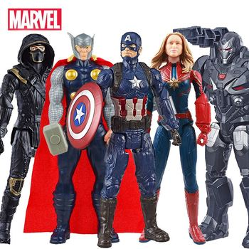 30cm Marvel the Avengers 4 Toys Ant Man Hawkeye War Machine Thanos Captain America Iron Man Action Figure for Children Christmas single marvel avengers infinity war thor ant man and the wasp yellowjacket scarlet witch figure building blocks toy for children