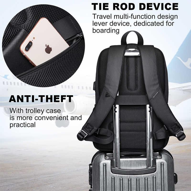 KAKA nowy plecak o dużej pojemności 15.6 cala plecak szkolny wielofunkcyjne USB do ładowania plecak na laptopa dla nastolatka