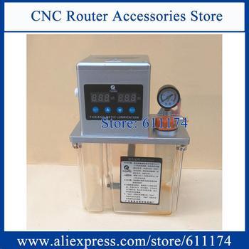 2L double screen Automatic Lubrication Pump 220v Oil Pump for CNC machine