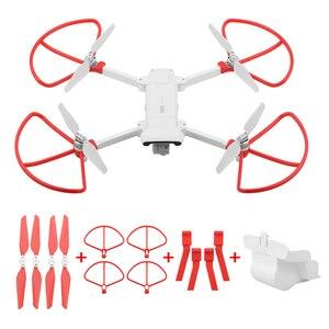 Image 1 - מתקפל מדחף + מורחב להגביר רגל חצובה + עדשת הגנת כיסוי + הגנת טבעות לxiaomi FIMI X8 SE Drone אבזרים