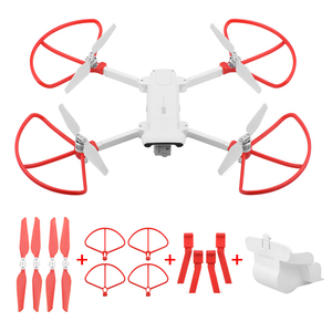 Image 1 - Folding Propeller+ Extended Heighten Leg Tripod+Lens protection cover + protection rings For Xiaomi FIMI X8 SE Drone Accessories
