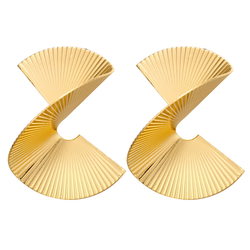 Hb8c729261631495aaf574fb3c12cc66a9 - Hot Sale Gold Drop Earrings Jewelry Earrings For Women C Shaped Round Geometric Earring Female Fashion Jewelry Gifts