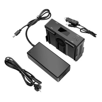 New 1Set Battery Charger for DJI Mavic2 Pro Zoom Drone Car Home Charging Hub Adapter