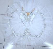 White SWAN LAKE professional ballet tutu child kids girls ballerina costume contemporary party dance costumes