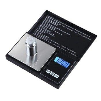 100/200/300/500/1000 г 0,01/0,1 г точный ЖК-дисплей карманные цифровые весы грамм вес для кухни ювелирное изделие