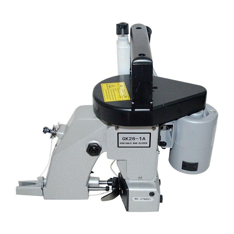 Saco Tecido Máquina De Costura portátil 220 V/110 V Elétrica Única cadeia de Máquina de Costura Saco De Tecido saco embalador GK26-1A