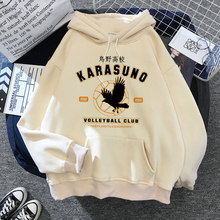 Haikyuu Hoodies Sweatshirts Tops Karasuno Anime Streetwear Funny Japanese Harajuku High-Graphic