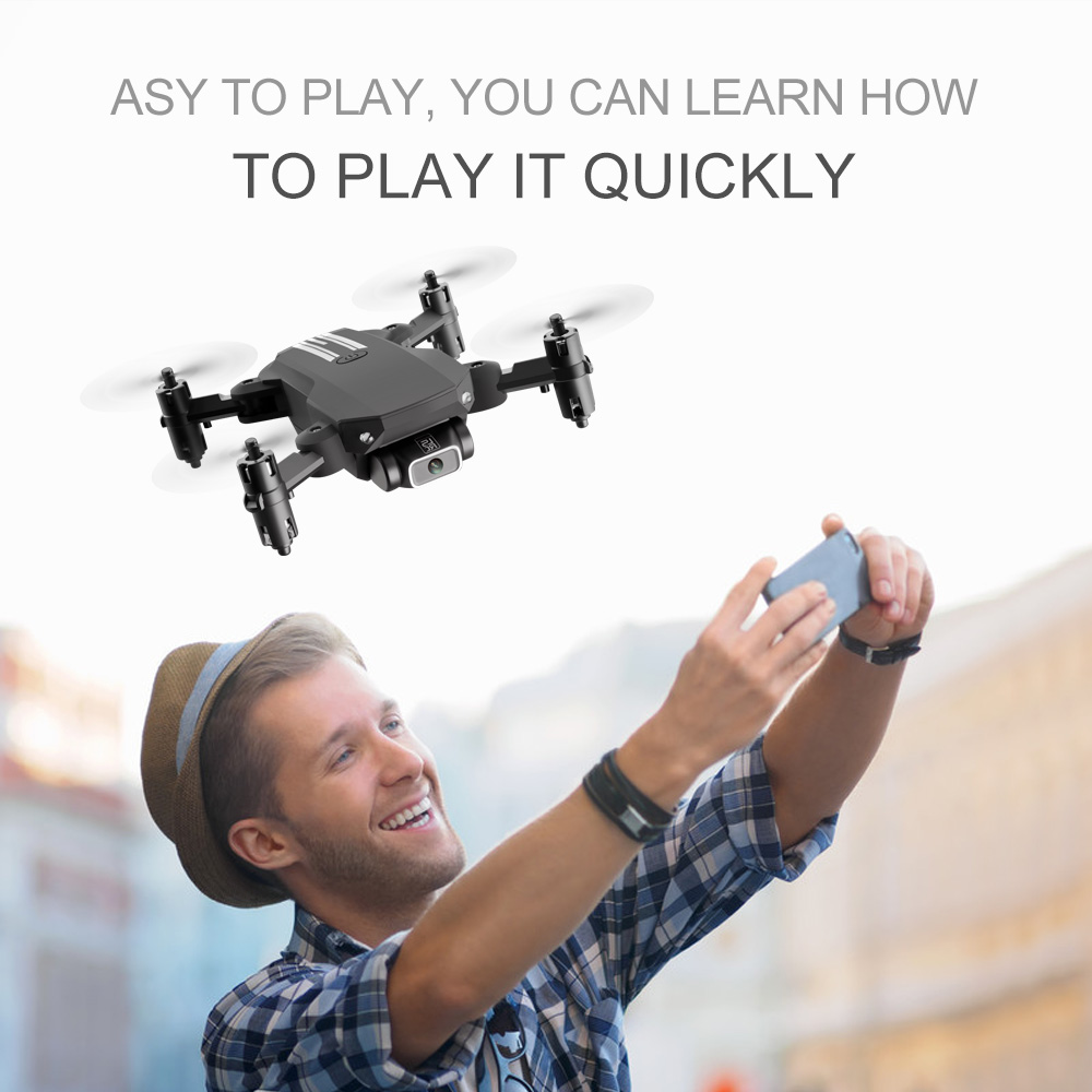 2020 New Mini Drone 4K 1080P HD Camera WiFi FPV Air Pressure Height Maintenance, Portable Foldable Quadrotor dron Children Toy 3
