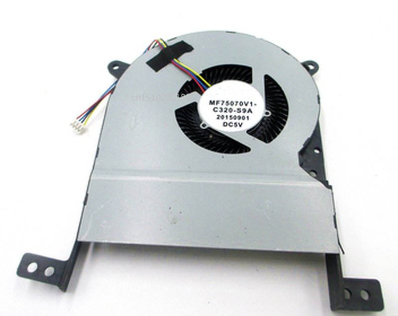Free Shipping Laptop CPU Cooling Fan For SUNON MF75070V1-C320-S9A DC5V 2.25W ASUS X756UA/UAM X756UX X756UXM K756U A756U