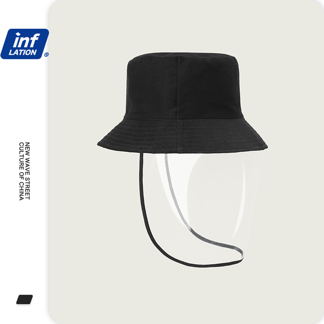 INFLATION 2020 Prevents Droplets Spread Mens Bucket Hats Fisherman Anti Virus Hat Prevents Droplets Spread Bucket Hats 196CI2020