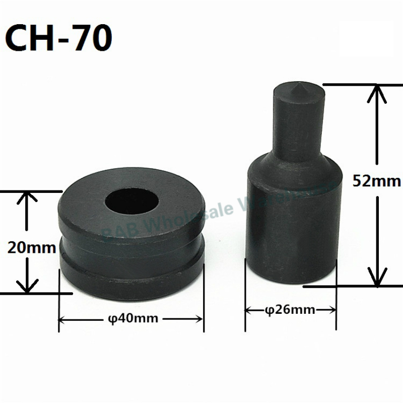 CH-70 Hydraulic Punching Dies Manual Punch Die Hydraulic Punching Mould-Manual Hydraulic Hole Puncher