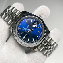 2019 Luxury Brand Watch blue dial 36mm & 40mm men and Women Automatic Mechanical Diamonds Silver Gold Datejust Watches AAA