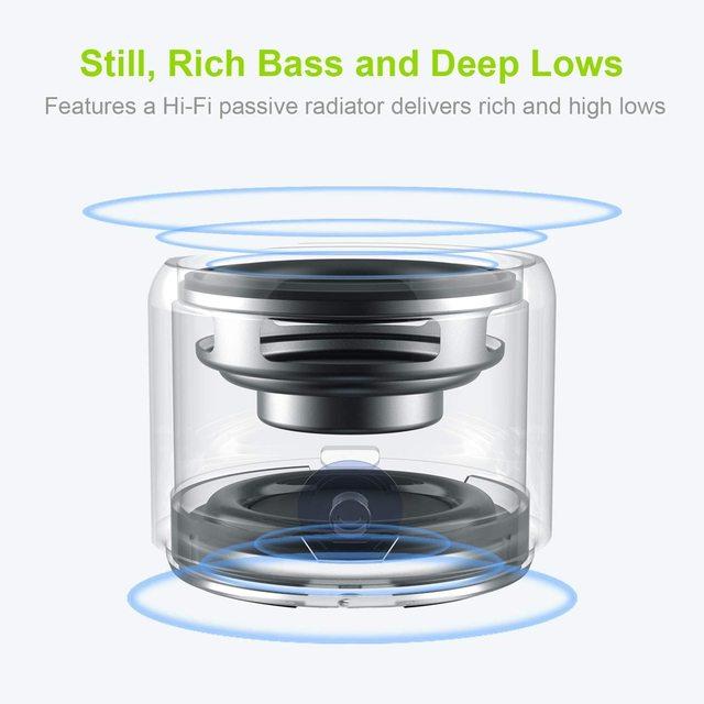 EWA IP67 Wasserdichte Bluetooth Lautsprecher Tragbare Outdoor Lautsprecher Wireless Mini Spalte Stereo Musik Surround Bass Box A106Pro 2