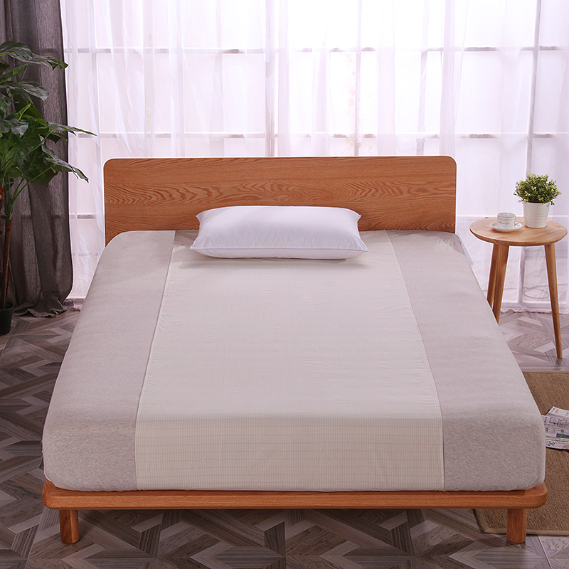 EARTHING beige Half Sheet bed linings health care Anti free radicals Anti age Antibacterial 99 health