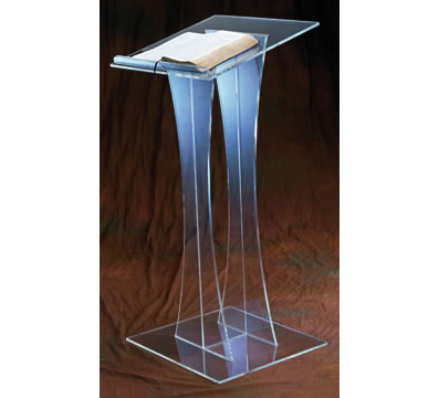 Free Shipping Multimedia Teaching Acrylic Lectern Welcome Reception Podium Desk Bank Cafe Bar Station Lectern The Platform