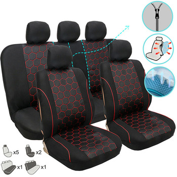 Car Covers Car Seat Cover Set Auto for Mercedes Benz Class B W245 W246 B180 Class G W460 W461 W463 Auto Seat Support