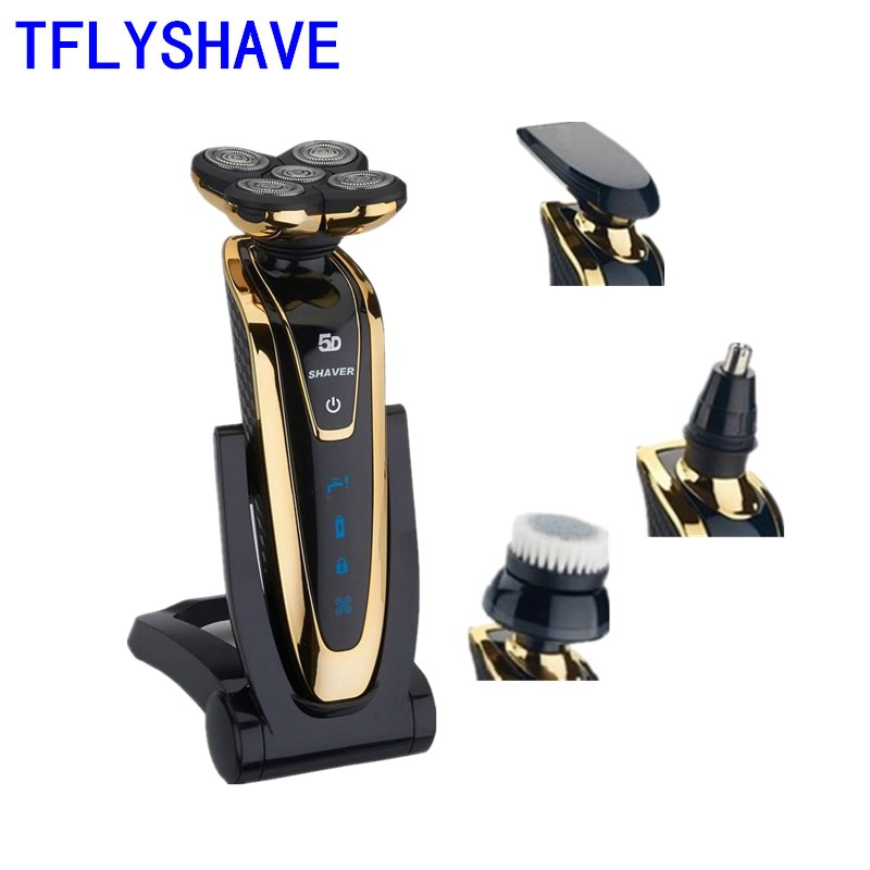 TFLYSHAVE Shaver For Men Electric Shaver Facial Shaving Machine Waterproof Beard Trimmer Private Facial Rechargeable Sharp