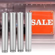 4Pcs/set Glass Standoff Mounting Bolts Hollow Stainless Steel Advertise Fixing Pins