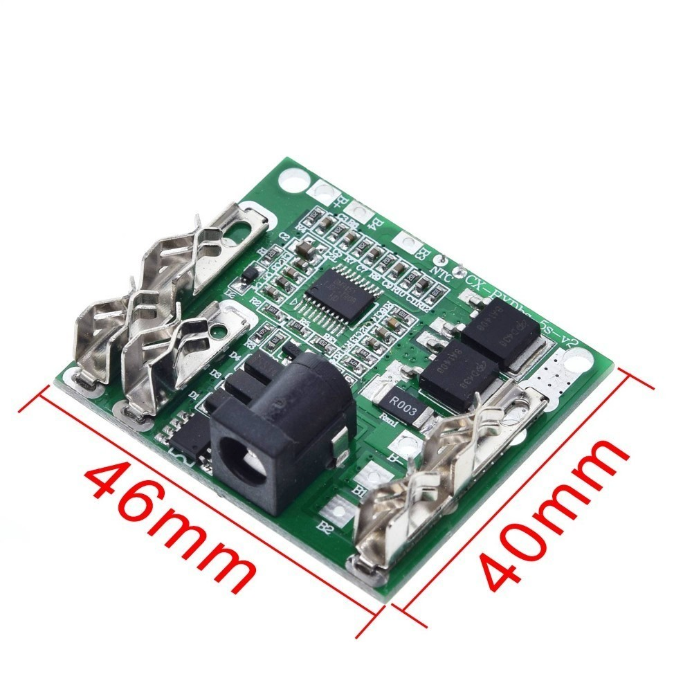 5S 20A 18V w//Balance BMS PCB Protection Board 18650 Li-ion Lithium Battery Cell