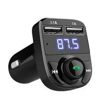 Transmissor fm sem fio veículo carregador usb acessórios do carro sem fio usb adaptador bluetooth para carro mp3 player dropshipping