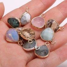 Подвески из натурального камня искусственные кристаллы модные
