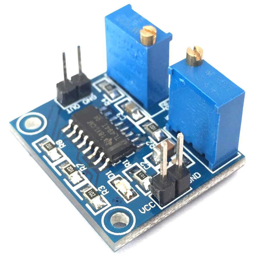 Taidacent DC 5V 500Hz-100KHz Frequency Duty Cycle Adjustable PWM Controller Module PWM Regulator PWM Switching Regulator TL494