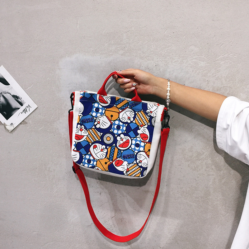 Summer canvas bag for ladies womens handbags and purses women lether shoulder bag