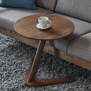 Image 2 - Padroni di casa Mobili Tavolo Rotondo Tavolino per Soggiorno Piccolo Comodino Design del Tavolo Tavolino Sofaside Minimalista Piccola Scrivania
