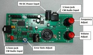 Image 5 - 2in1: CW مدرب و فك * مورس رمز التدريب شريك * كيير مترجم تيار مستمر 9 فولت 12 فولت تردد اللحن: 600 هرتز 1200 هرتز