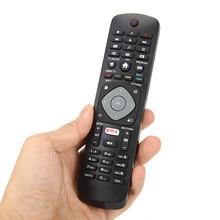 استبدال التحكم عن بعد التلفزيون المنزلية عن بعد تحكم استبدال ل فيليبس الذكية التلفزيون YKF347 003 العالمي الأسود