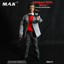 Full set figure REDMAN TOYS RM010 1/6th Inspector harry Dirty Harry (1971) Male Figure Model for Collection