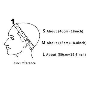 Image 3 - 24 pcs Glueless שיער פאת נטו אוניית זול פאת כובעים להכנת פאות ספנדקס נטו אלסטי כיפת פאת כובע