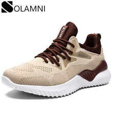 Spring Summer Breathable Sneakers Men Casual Shoes Light Lace Up Mesh Sneakers M