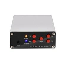 Bluetooth 5.0 Digital Power Amplifier TPA3116D2 Bluetooth AUX Stereo Amplifiers Dual Channel 50W*2 Class D Amp DC 12-24V nobsound ms 50d class a el34 vacuum tube amplifier stereo power amp with bluetooth