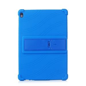 Image 4 - Funda de silicona para tableta Lenovo Smart Tab P10 TB X705F, antigolpes, con soporte, M10, TB X605F, 10,1