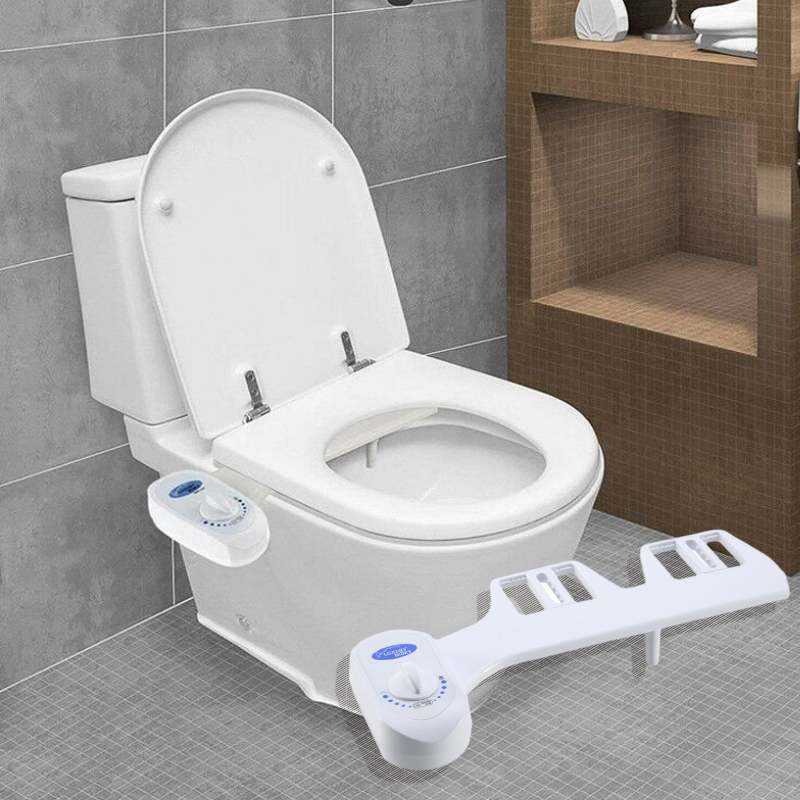 Toilet seat accessories bathroom bidet water spray fresh water spray cleaning