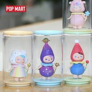 Image 1 - Popmartおもちゃディスプレイ缶ランダムプラスチックボックスギフト送料無料