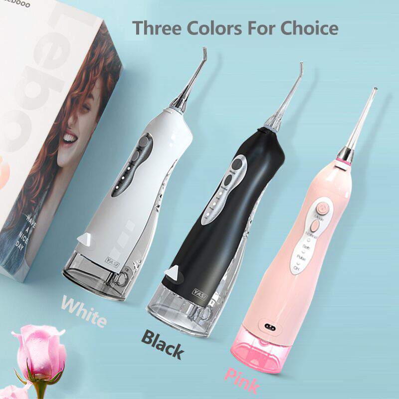 Electric Oral Irrigator 3 Mode USB Rechargeable Dental Water Flosser Family Travel Use Waterproof Water Jet Floss Teeth Cleaner