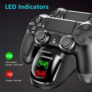 Charger Dock-Station-Stand Game-Controller Joypad-Joystick Usb-Handle Slim/ps4 Dual