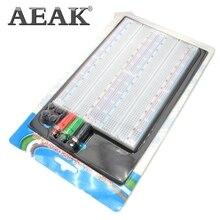 AEAK 1 шт. SYB-1660 непаянная макетная плата печатная плата 4 шины тестовая печатная плата Tie-point 1660 ZY-204