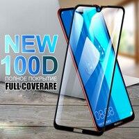 100D templado de vidrio para Huawei Y7 Y6 Y5 primer 2018 de 2019 Y5 Lite Protector de pantalla Y6S Y7S Y8S Y9S Y5P Y6P Y7P Y8P película protectora