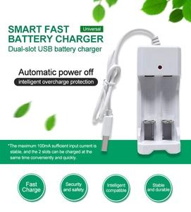Image 2 - PHOMAX USB 2 gniazda 1.2V przenośny szybki z linią akumulator aa ładowarka do baterii aaa 2pc Ni MH/ni cd bateria deft ładowarka led