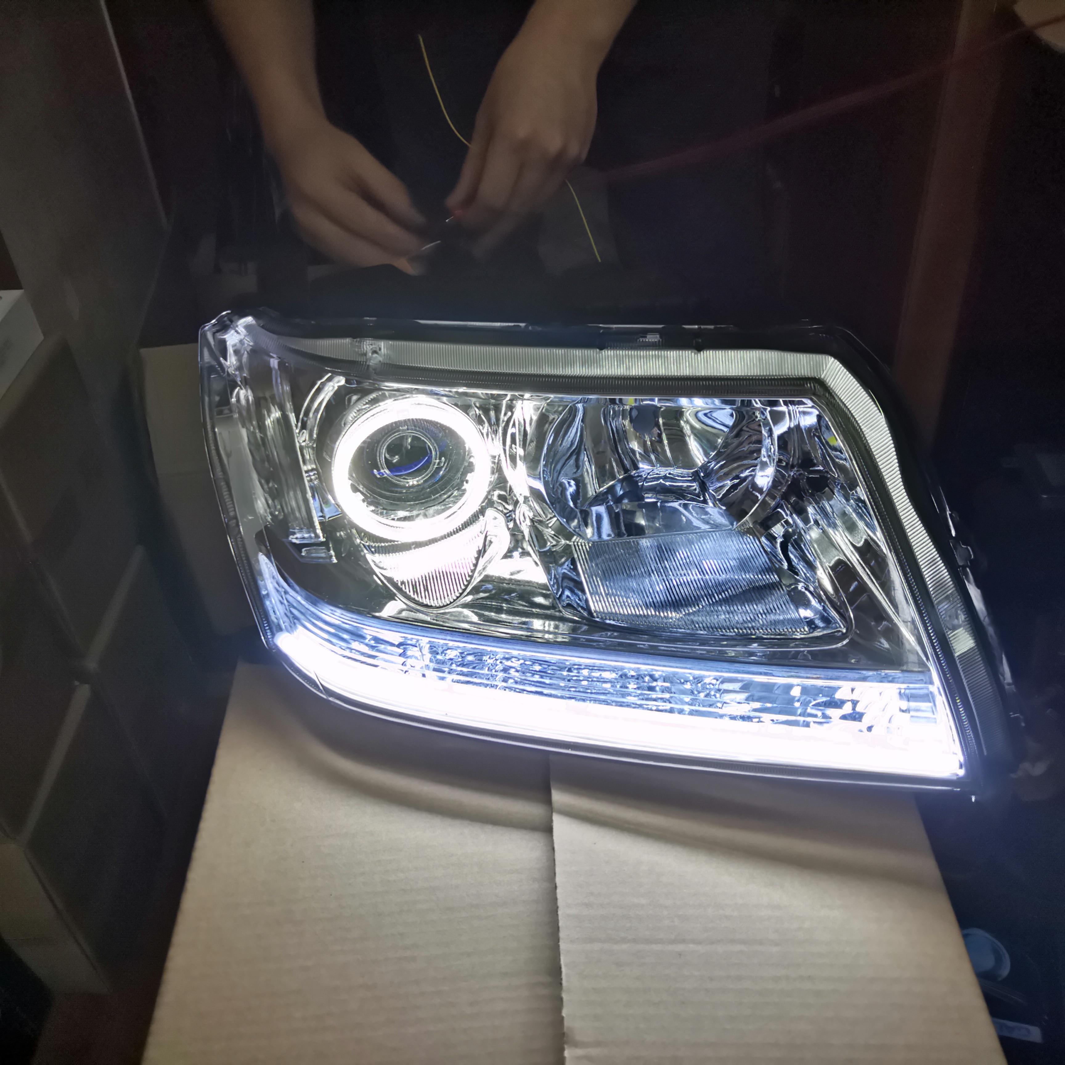 Suzuki Swift MK3 Blue 4-LED Xenon Bright Side Light Beam Bulbs Pair Upgrade