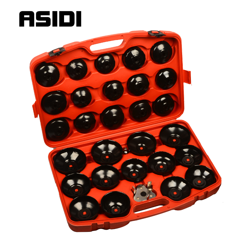 30pcs Oil Filter Cap Wrench Cup Socket Tool Set For Mercedes BMW VW Audi Volvo Ford(China)