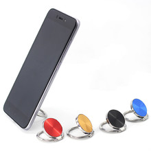 Universal  Finger Ring Mobile Phone Grip Stand Holder For iPhone Samsung Huawei Luxury Metal Mount Smartphone