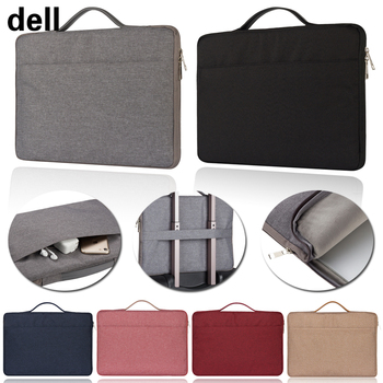 Side zipper Laptop Bag Sleeve Handbag Notebook Carrying Case for Dell Latitude/Vostro/ XPS 11/12/13/14 Laptop Accessories