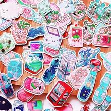190 pçs menina rosa sobremesa adesivo diy scrapbook colagem telefone móvel computador diário plano feliz decoração adesivo
