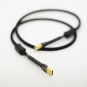 Image 5 - HI End Zuurstofvrij Koper Decoder Geluidskaart Audio Kabel DAC Datalijnen HiFi 2.0 USB Kabel Voor datakabel DAC DVD Versterker