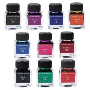 Pen Ink Fountain-Pen-Ink Ink-Bottle Chemistry A5A3 25ml Stationery Printer Non-Carbon